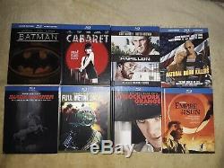 12 Blu-ray Digibook LOT Blade Runner Clockwork Orange Full Metal Jacket Cabaret