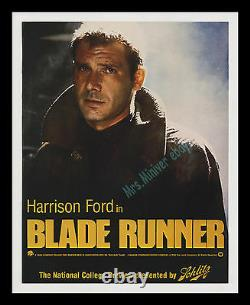 1982 Blade Runner Advance Preview Movie Poster! Museum Archival Linen-mounted