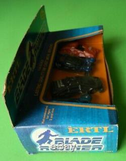 1982 Ertl Blade Runner RARE 4 Car Boxed Set 1/64 Scale Unopened Harrison Ford
