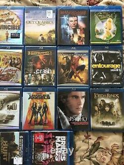 20 Brandnew Movie Lot In Blu Ray. Get Out, TinkerBell, Blade Runner, Crash, Spide