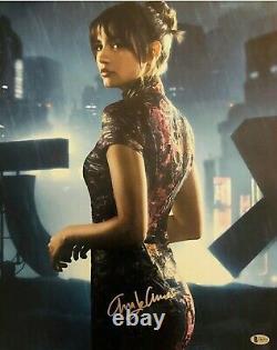 Ana De Armas Signed Autograph Blade Runner 2049 16x20 Photo Beckett Bas Coa