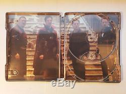 Avengers Infinity War 3D + Blade Runner 2049 3D 2x OOP Zavvi STEELBOOKS +Blu-ray