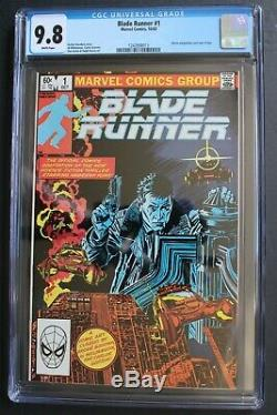 BLADE RUNNER #1 Harrison Ford 1st Movie 1982 Marvel AL WILLIAMSON CGC NM/MT 9.8