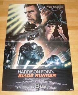 BLADE RUNNER (1982) Ridley Scott Sci-Fi Classic Rare Original One Sheet Poster