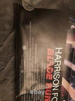 BLADE RUNNER 1sh'82 Ridley Scott sci-fi classic, art of Harrison Ford by Alvin