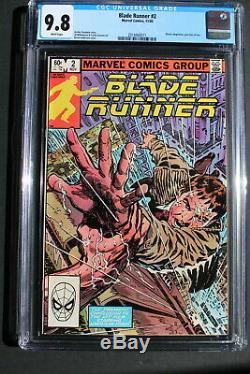 BLADE RUNNER #2 Harrison Ford 1st Movie 1982 Marvel AL WILLIAMSON CGC NM/MT 9.8
