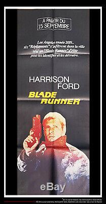 BLADE RUNNER 20 x 60 Vintage French Door Panel Movie Poster Original 1982