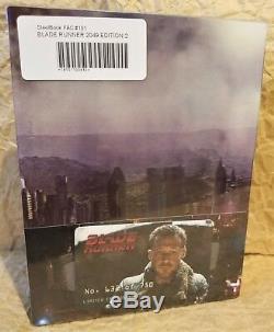 BLADE RUNNER 2049 3D+2D Blu-Ray Filmarena FAC E2 Double Lenticular XL STEELBOOK