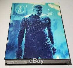 BLADE RUNNER 2049 3D + 2D Blu-ray STEELBOOK HDZETA DBL LENTICULAR