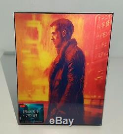 BLADE RUNNER 2049 3D + 2D Blu-ray STEELBOOK HDZETA DBL LENTICULAR #070/300