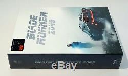 BLADE RUNNER 2049 3D + 2D Blu-ray WEA STEELBOOK FILMARENA FULLSLIP XL #081