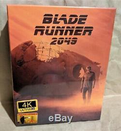 BLADE RUNNER 2049 4K UHD+3D+2D Blu-Ray Filmarena FAC E3 Fullslip XL STEELBOOK