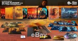 BLADE RUNNER 2049 4K UHD + 3D +2D Blu-ray STEELBOOK BOXSET FILMARENA #142