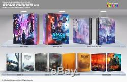 BLADE RUNNER 2049 4K UHD + 3D +2D Blu-ray STEELBOOK BOXSET FILMARENA #51/500