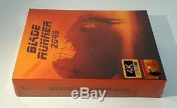 BLADE RUNNER 2049 4K UHD + 3D + 2D Blu-ray STEELBOOK FILMARENA #051/500