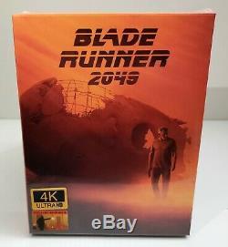 BLADE RUNNER 2049 4K UHD + 3D + 2D Blu-ray WEA STEELBOOK FILMARENA