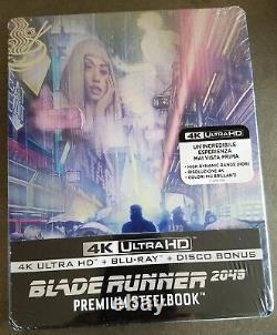 BLADE RUNNER 2049 4K UHD + Blu-Ray Italy Exclusive Limited Ed. MONDO STEELBOOK