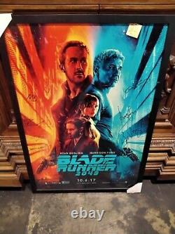 BLADE RUNNER 2049 Cast Signed 43x29 Movie Poster Harrison Ford Ryan Gosling