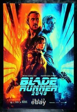 BLADE RUNNER 2049 CineMasterpieces ORIGINAL DS RYAN GOSLING MOVIE POSTER 2017
