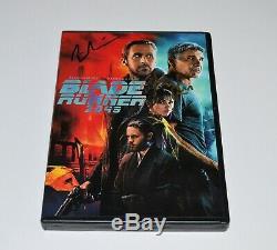 BLADE RUNNER 2049 DVD Autograph RYAN GOSLING & HARRISON FORD Signed Rare