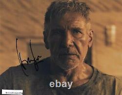 BLADE RUNNER 2049. HARRISON FORD as Deckard Hand signed Colour 8x10 photo COA