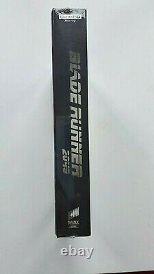 BLADE RUNNER 2049 Hdzeta single Lenticular Steelbook 4K UHD NEW&SEALED #239/300