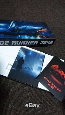 BLADE RUNNER 2049 Japan Limited Premium Box 4K/3D/2D BLU-RAY STEELBOOK USED F/S