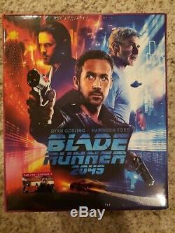 BLADE RUNNER 2049 Steelbook FilmArena Maniacs 1-Click Box 4K 3D Blu-ray E1 E2 E3
