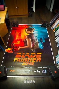 BLADE RUNNER 2049 Style G 4x6 ft Bus Shelter D/S Movie Poster Original 2017