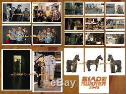 BLADE RUNNER 2049 ultra rare COLOR KEY PHOTO SET of 400 Stills FORD RYAN GOSLING