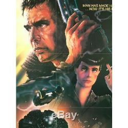 BLADE RUNNER Affiche de film Studio Style 69x104 cm. 1982 Harrison Ford, R