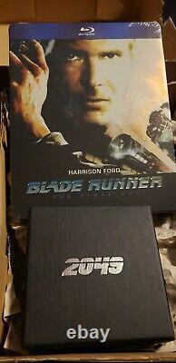 BLADE RUNNER Blu-Ray STEELBOOK + UNICORN Limited Collector's Edition VERY RARE