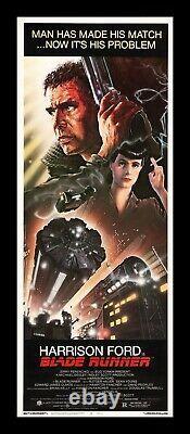 BLADE RUNNER CineMasterpieces ORIGINAL RARE INSERT VINTAGE MOVIE POSTER 1982