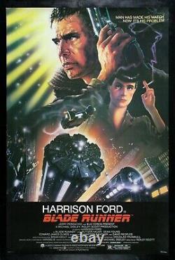 BLADE RUNNER CineMasterpieces VINTAGE ORIGINAL MOVIE POSTER ROLLED 1982