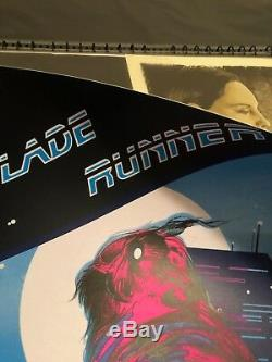 BLADE RUNNER LTD. ED. NUMBERED SOLD OUT PRINT (by Zi Xu) Available here