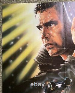BLADE RUNNER Original Vintage 27x41 One Sheet Movie Poster