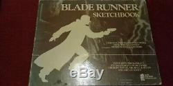 BLADE RUNNER SKETCHBOOK. Softback, Monochrome, 1st Edition, 1982