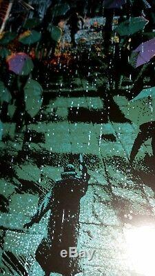 BLADE RUNNER Screenprint by KILIAN ENG xx/20 METAL VARIANT