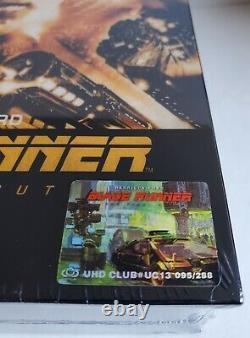 BLADE RUNNER THE FINAL CUT (UHD CLUB Exclusive #13) 4K + Bonus Disc Wooden Case