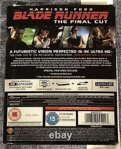 BLADE RUNNER Titans Of Cult 4K UHD BLU-RAY STEELBOOK