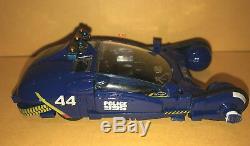 BLADE RUNNER movie BLUE police SPINNER toy CAR (opening doors) deckard SYD MEAD