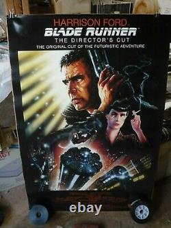BLADE RUNNER, orig rolled 1-sht / movie poster (Harrison Ford) DIRECTORS CUT