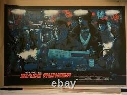 BLADE RUNNER rare limited edition movie poster screen print SOLD OUT