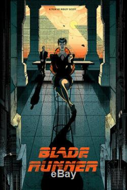 BLADE RUNNER (reg) by VICTO NGAI, Rare Limited Edition Print, NT MONDO