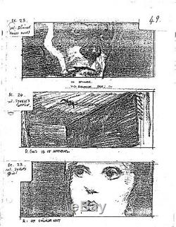 BLADE RUNNER very rare complete movie STORYBOARD