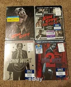 Best Buy Exclusive STEELBOOK or METALPACK Blu Ray (Some 4K) SOLD OUT Sealed LE