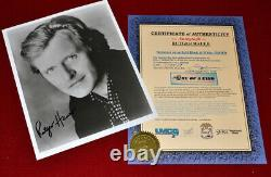 Best RUTGER HAUER Signed 8x10 PHOTO Autograph COA UACC, Blade Runner Free SHIP
