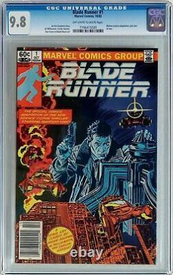 Blade Runner #1 1982 CGC 9.8 NM/MT Movie Adaptation part 1 of2 Newsstand Edition