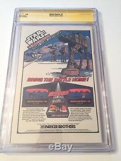 Blade Runner #1 2x Ss Cgc 9.8 Signed By Sean Young & Edward James Olmos Movie