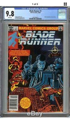 Blade Runner #1 CGC 9.8 NM/MT HARRISON FORD MOVIE ADAPTATION PART 1 Marvel Comic